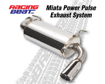 : Exhaust Systems - 90-97 : Power Pulse Exhaust System 90-95 Miata