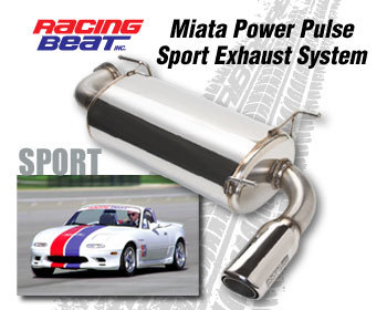 : Exhaust Systems - 90-97 : Power Pulse Sport Exhaust System 90-95 Miata