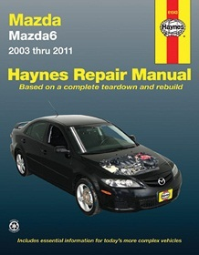 : Books & Gifts : Haynes Repair Manual Mazda6 2003-2011
