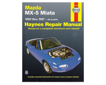 : Books & Gifts : Haynes Repair Manual 1990-2009 MX-5/Miata