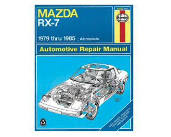 : Books & Gifts : Haynes Repair Manual 79-85 RX-7