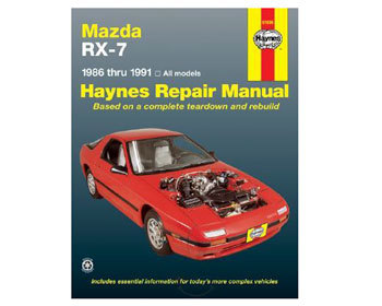 : Books & Gifts : Haynes Repair Manual 86-91 RX-7