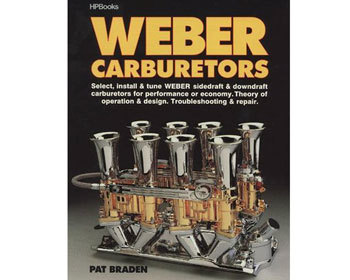 : Books & Gifts : Weber Carburetors