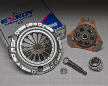 : Clutch/Pressure Plate : Exedy Clutch Kit - Stage 2 83-92 Non-turbo RX-7