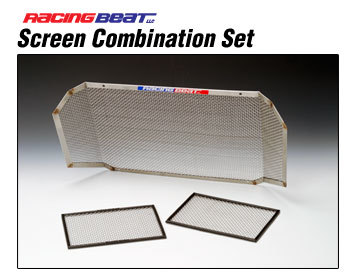 : Oil System : AC and Oil Cooler Screens 09-11 RX-8 Package Set