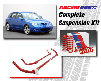 : Suspension Packages : Suspension Package 07-09 Mazda 3s 2.3