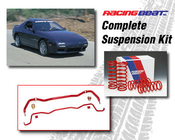 : Suspension Packages : Suspension Package 86-92 RX-7 Convertible
