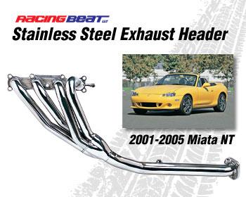 Racing Beat Header 01-05 Miata NT *