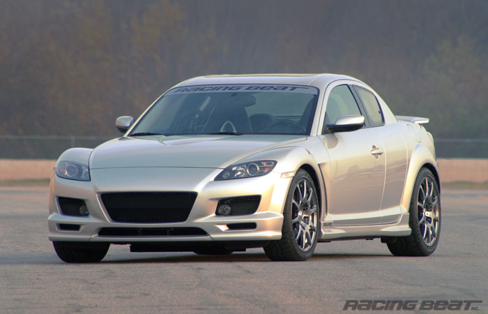 RX-8 Type II Front Nose Kit 04-08 RX-8