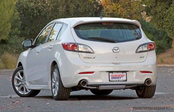 Exhaust System - 5 Door for 2010-13 Mazda 3s 2.5L - Racing Beat