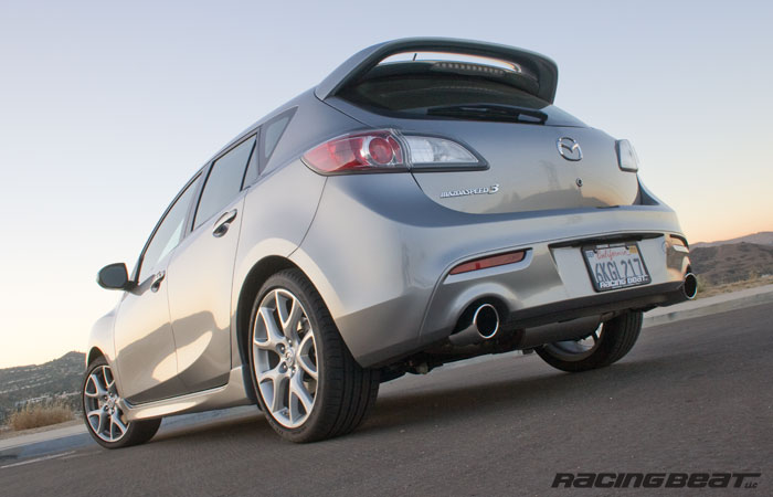 MazdaSd 3 Exhaust System for 2010-13 MS3 - Racing Beat