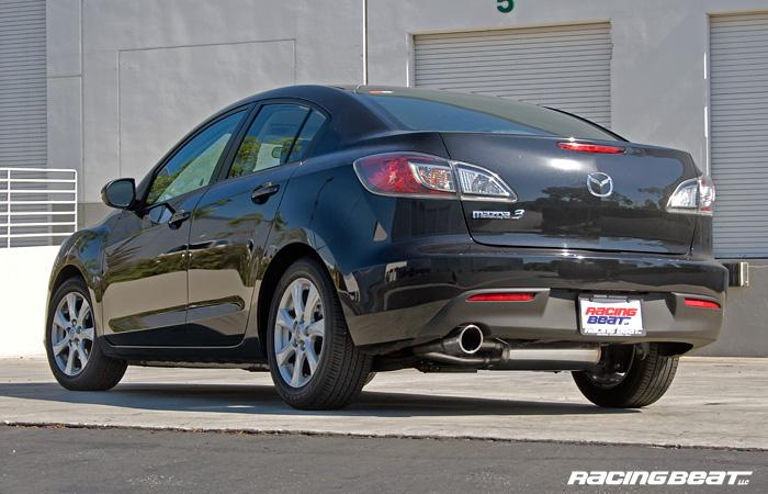 Exhaust System - Sedan for 2010-13 Mazda 3i 2.0L - Racing Beat