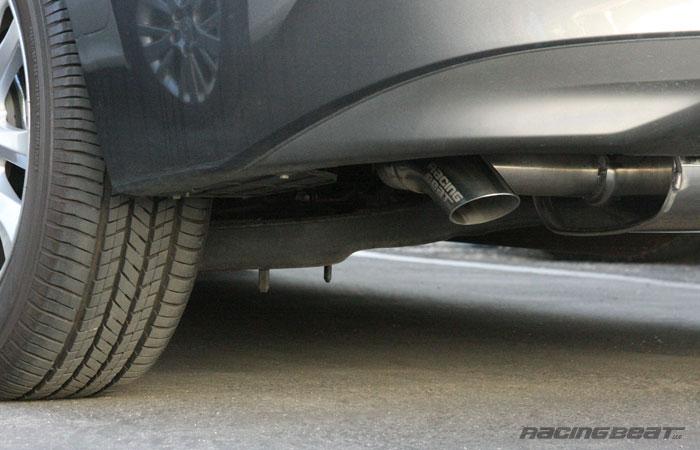Exhaust System - 4 Door for 2014-18 Mazda3 Skyactiv 2.0/2.5 - Racing