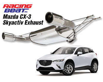 power pulse exhaust for 2015 18 mazda cx 3 2 0l 2wd only. Black Bedroom Furniture Sets. Home Design Ideas