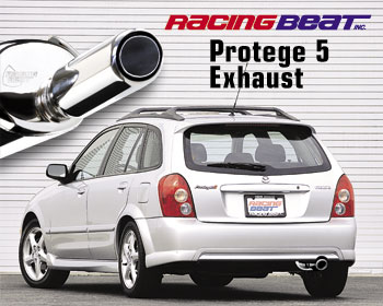 Exhaust System For 02 03 Protege5 Racing Beat