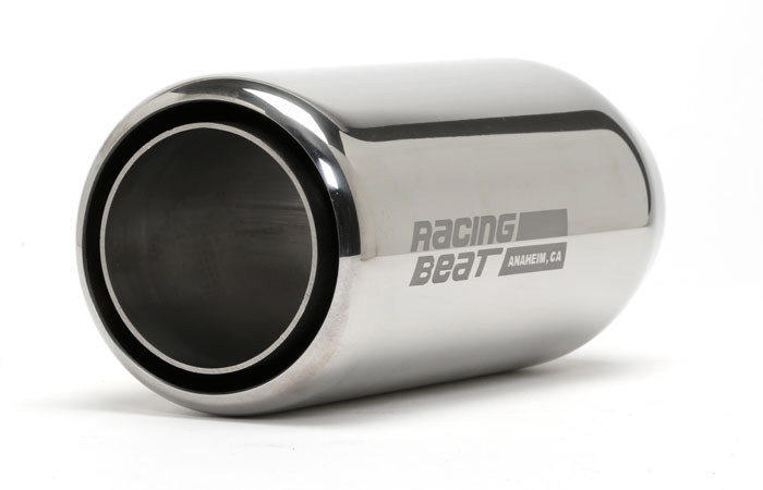 Muffler Tip 2inch Inlet Universal Doublewall Round Right: Mazda 2 Exhaust Tip At Woreks.co