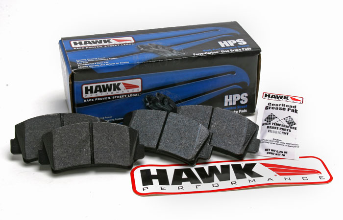 Hawk Brake Pads >> Hawk Brake Pads For 86 95 Rx 7 4 Piston Front Racing Beat