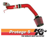 K/N Typhoon Air Intake - Red
