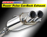 Cat-Back Exhaust - Dual Tips - 93-95 RX-7