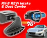 REVi Intake and Duct Combo - 04-08 RX-8