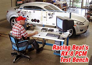 RX8 PCM Test Bench
