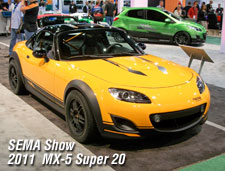 Mazda SEMA vehicles