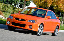 MazdaSpeed Front View