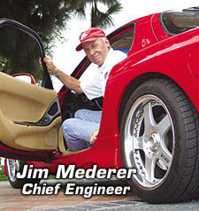 Jim Merderer, Chief Engineer